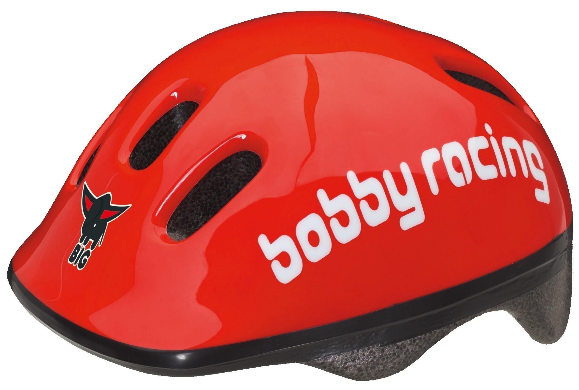 BIG Bobby Racing Helmet / Fahrradhelm Bild 1
