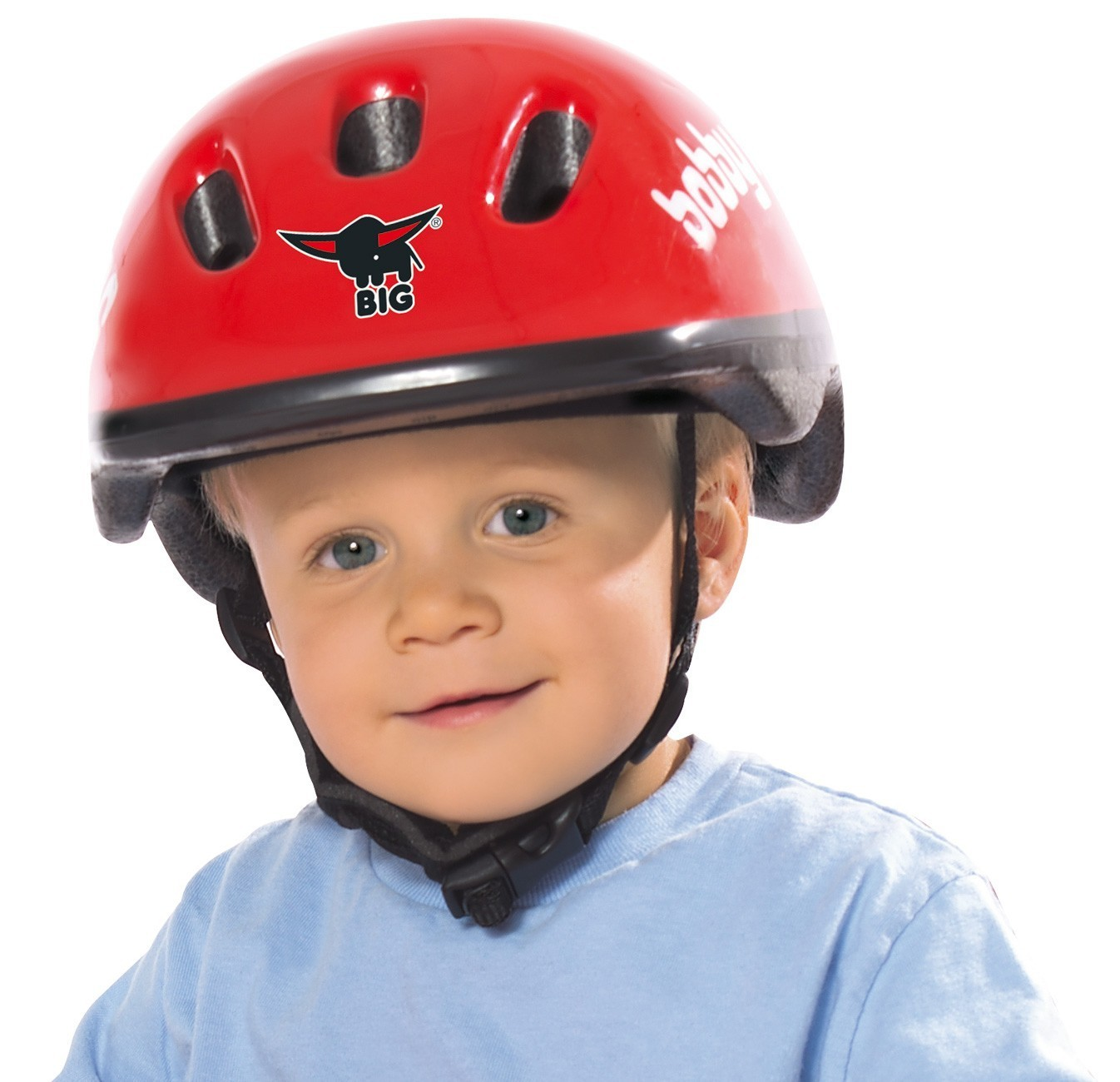 BIG Bobby Racing Helmet / Fahrradhelm Bild 2