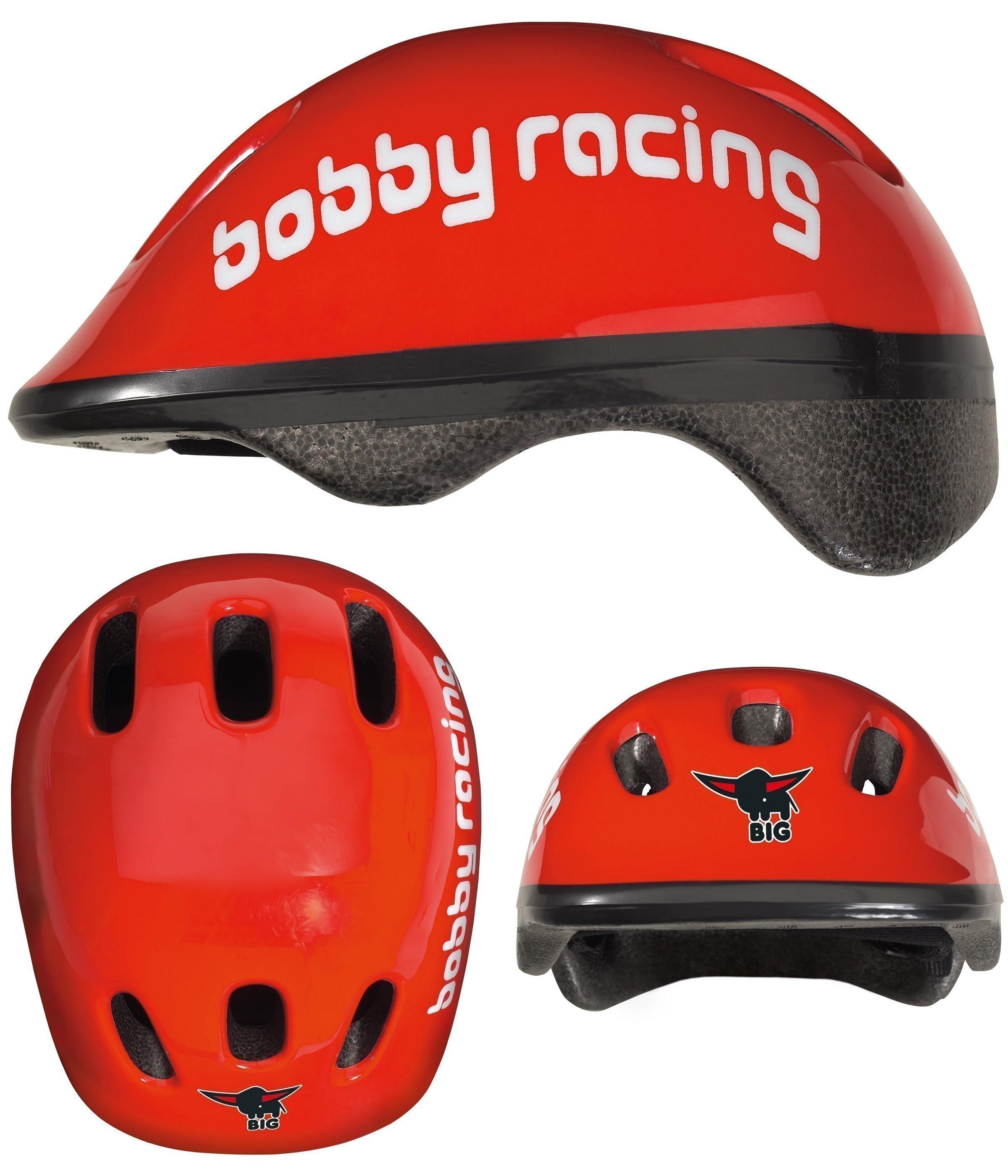 BIG Bobby Racing Helmet / Fahrradhelm Bild 3