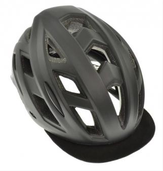 Fahrradhelm AGU Helm Cit-E 3 schwarz Gr. S/M 54-58cm Bild 1