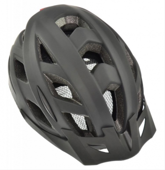 Fahrradhelm AGU Helm Cit-E mit Schirm schwarz Gr. L/XL 58-62cm Bild 1