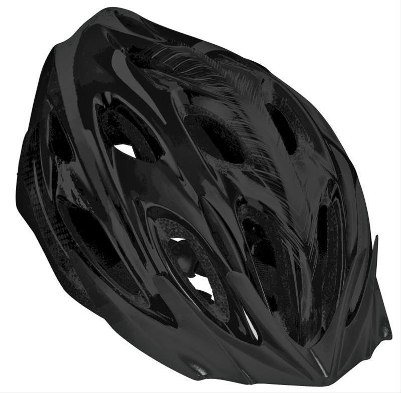 Fahrradhelm AGU Helm Cropani MTB schwarz Gr. L/XL 58-62cm Bild 1