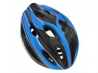 Fahrradhelm AGU Helm Cropani schwarz-blau Gr.S/M Bild 1