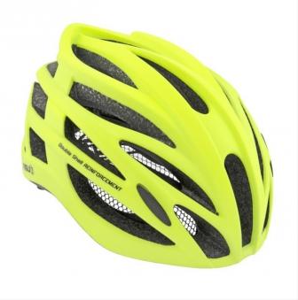 Fahrradhelm AGU Helm Tesero gelb Gr. S/M 54-58cm Bild 1