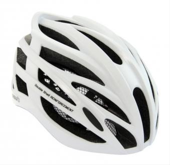 Fahrradhelm AGU Helm Tesero weiß Gr. S/M 54-58cm Bild 1