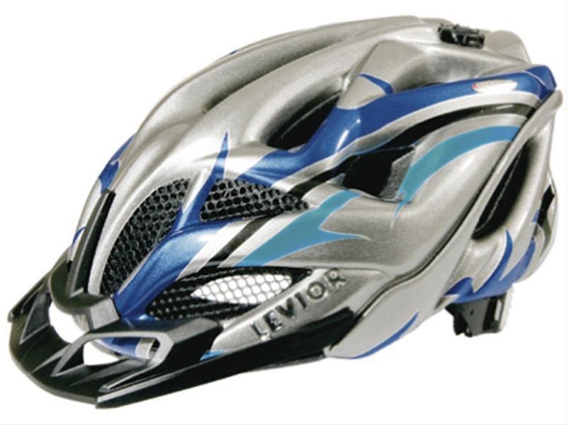 Fahrradhelm Levior Helm Opus Visor anthrazit-blau Gr. M 52-58cm Bild 1