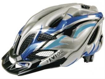 Fahrradhelm Levior Helm Opus Visor anthrazit-blau Gr.L 56-62cm Bild 1