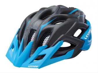 Fahrradhelm Levior Helm Status junior blau-schwarz Gr. M 52-59cm Bild 1