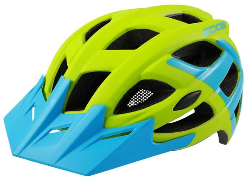 Fahrradhelm Rock Machine Helm Edge grün-blau Gr. M/L 58-61cm Bild 1