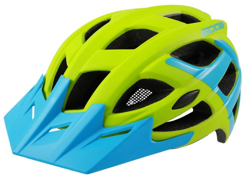 Fahrradhelm Rock Machine Helm Edge grün-blau Gr. S/M 54-58cm Bild 2