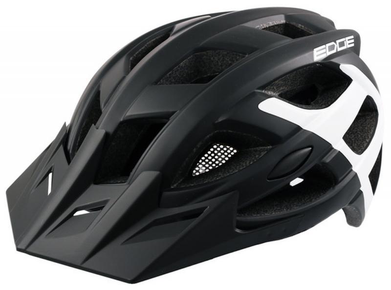 Fahrradhelm Rock Machine Helm Edge schwarz-weiß Gr. M/L 58-61cm Bild 2