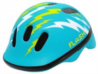 Fahrradhelm Rock Machine Helm Flash Kids blau Gr. XS 44-48cm Bild 1