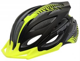 Fahrradhelm Rock Machine Helm Peak schwarz-grün Gr. S/M 54-58cm Bild 1