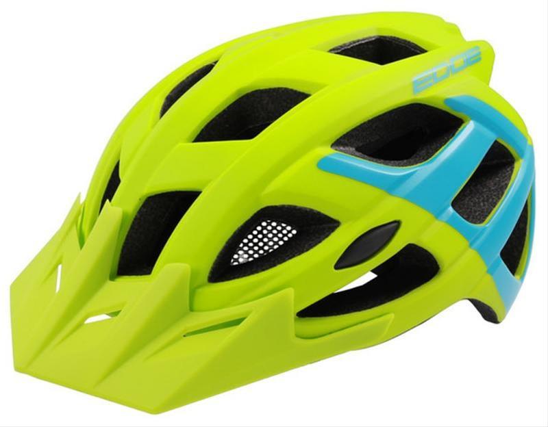 Helm Rockmachine Edge grün-blau Bild 1