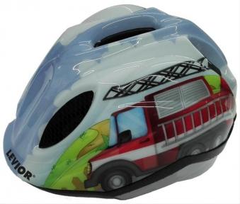 Kinderfahrradhelm Levior Primo Fire Truck Bild 1