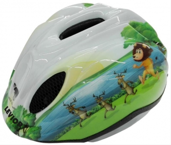 Kinderfahrradhelm Levior Primo Safari