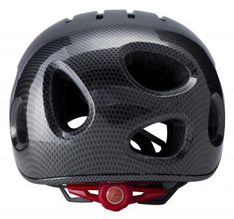 Powerpac Fahrradhelm Gr. XL 59-63cm carbon schwarz mit Kamera Bild 3