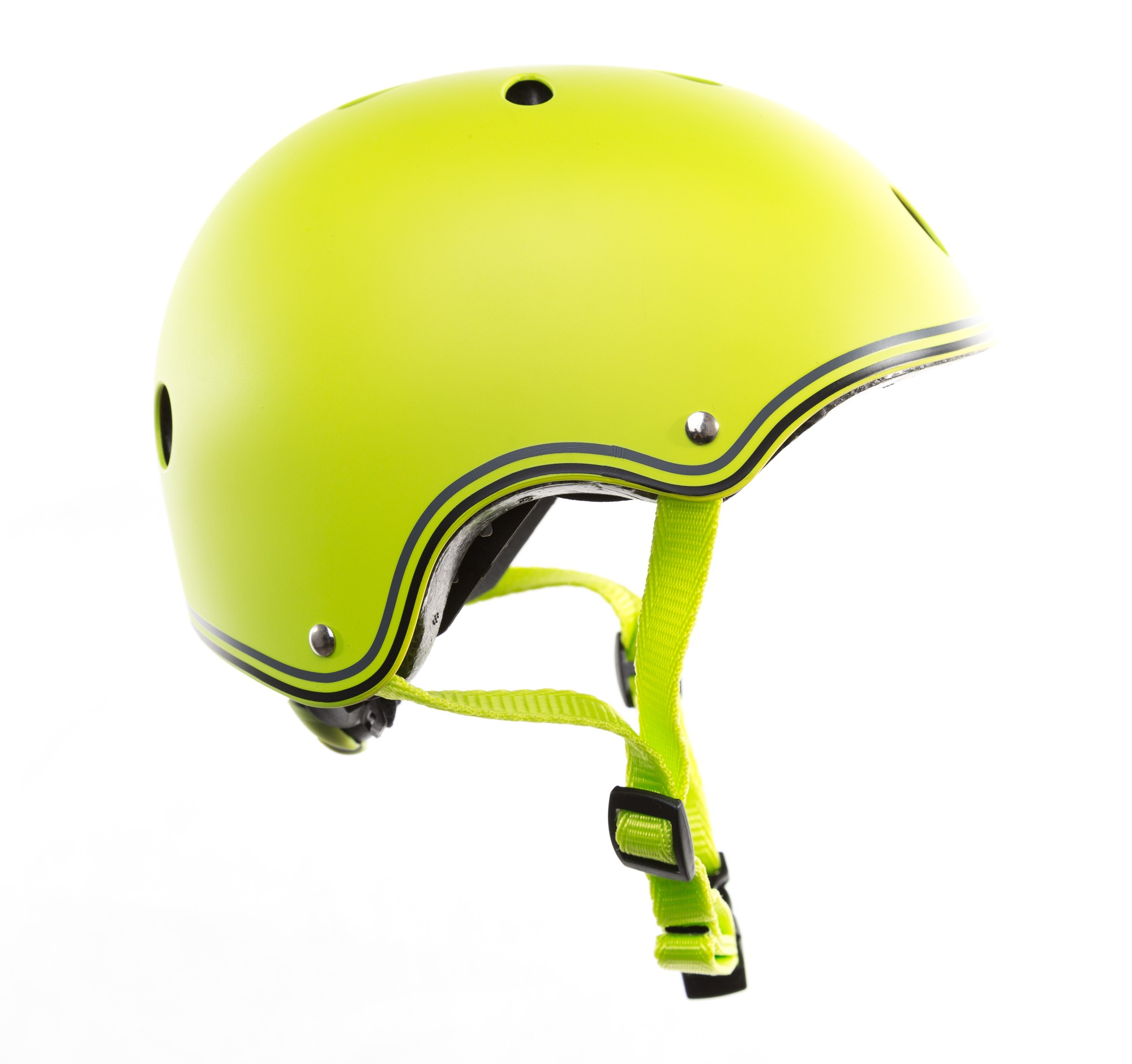 Skateboarder Helm / Skater Helm Globber Junior grün Größe 51-54cm Bild 1