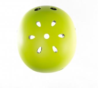 Skateboarder Helm / Skater Helm Globber Junior grün Größe 51-54cm Bild 4