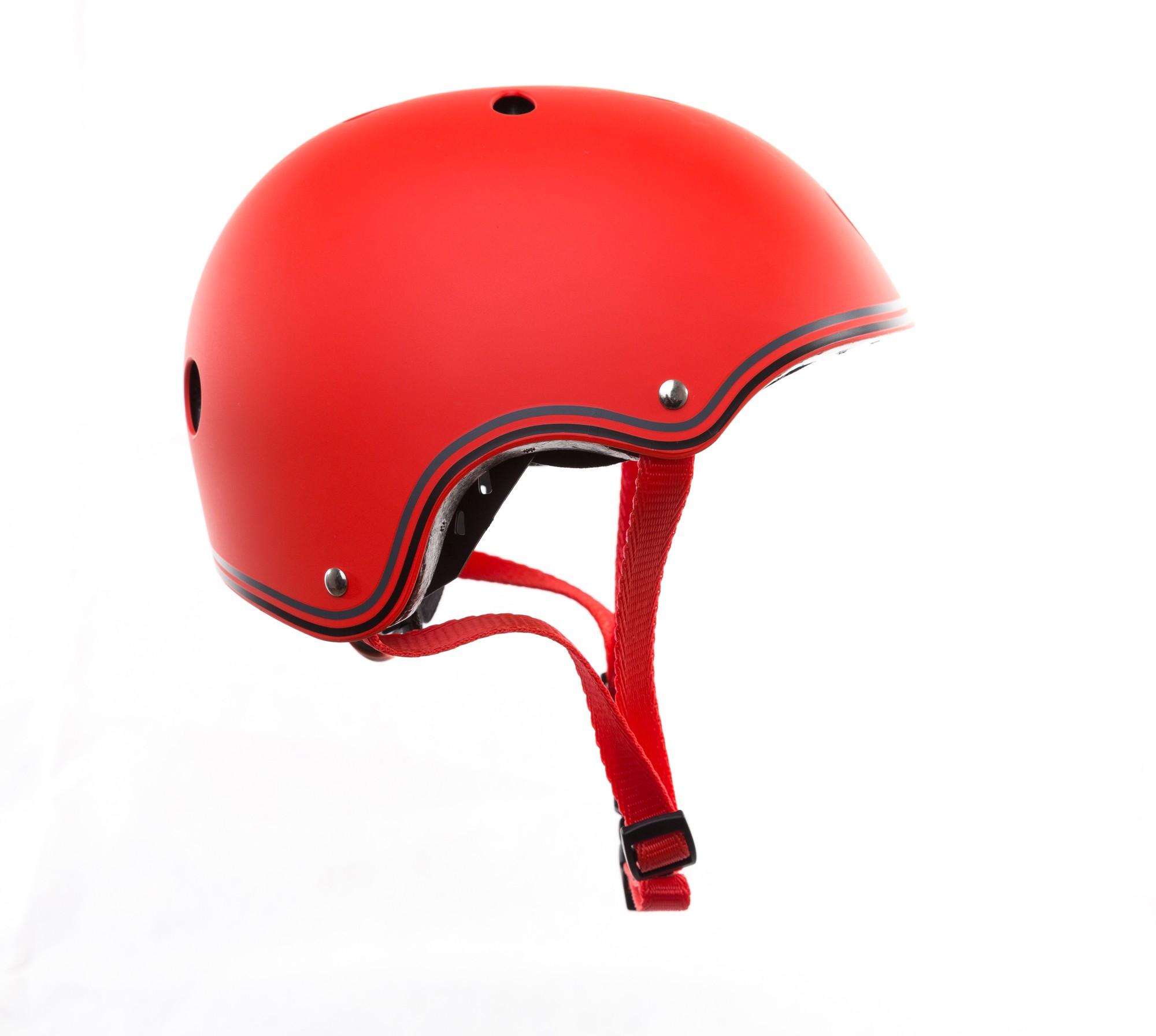 Skateboarder Helm / Skater Helm Globber Junior rot Größe 51-54cm Bild 1