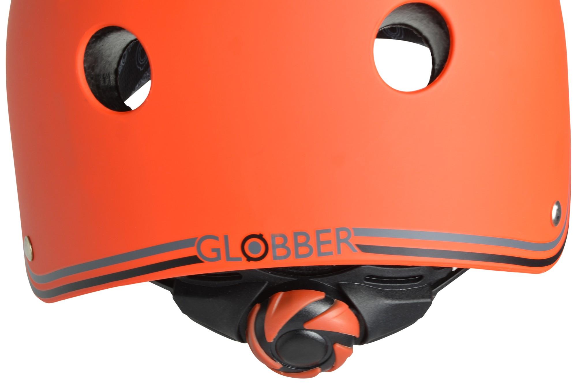 Skateboarder Helm / Skater Helm Globber Junior rot Größe 51-54cm Bild 3