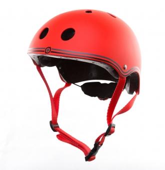 Skateboarder Helm / Skater Helm Globber Junior rot Größe 51-54cm Bild 2