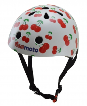 kiddimoto Fahrradhelm / Kinderhelm Größe M Cherry Bild 1