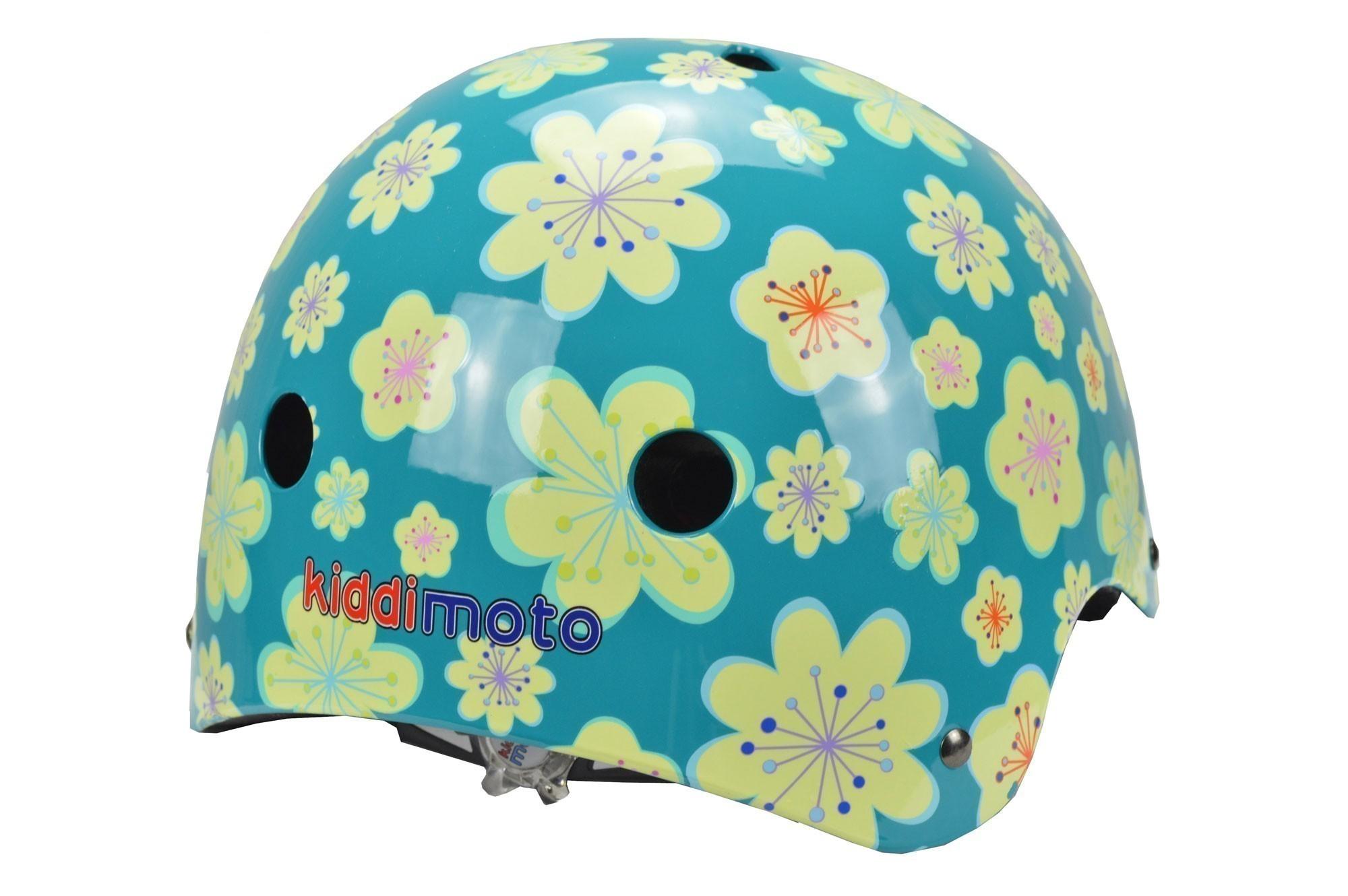 kiddimoto Fahrradhelm / Kinderhelm Größe M Fleur Bild 2