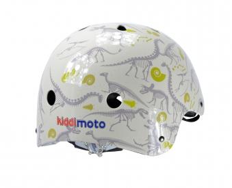 kiddimoto Fahrradhelm / Kinderhelm Größe M Fossil Dino Bild 2