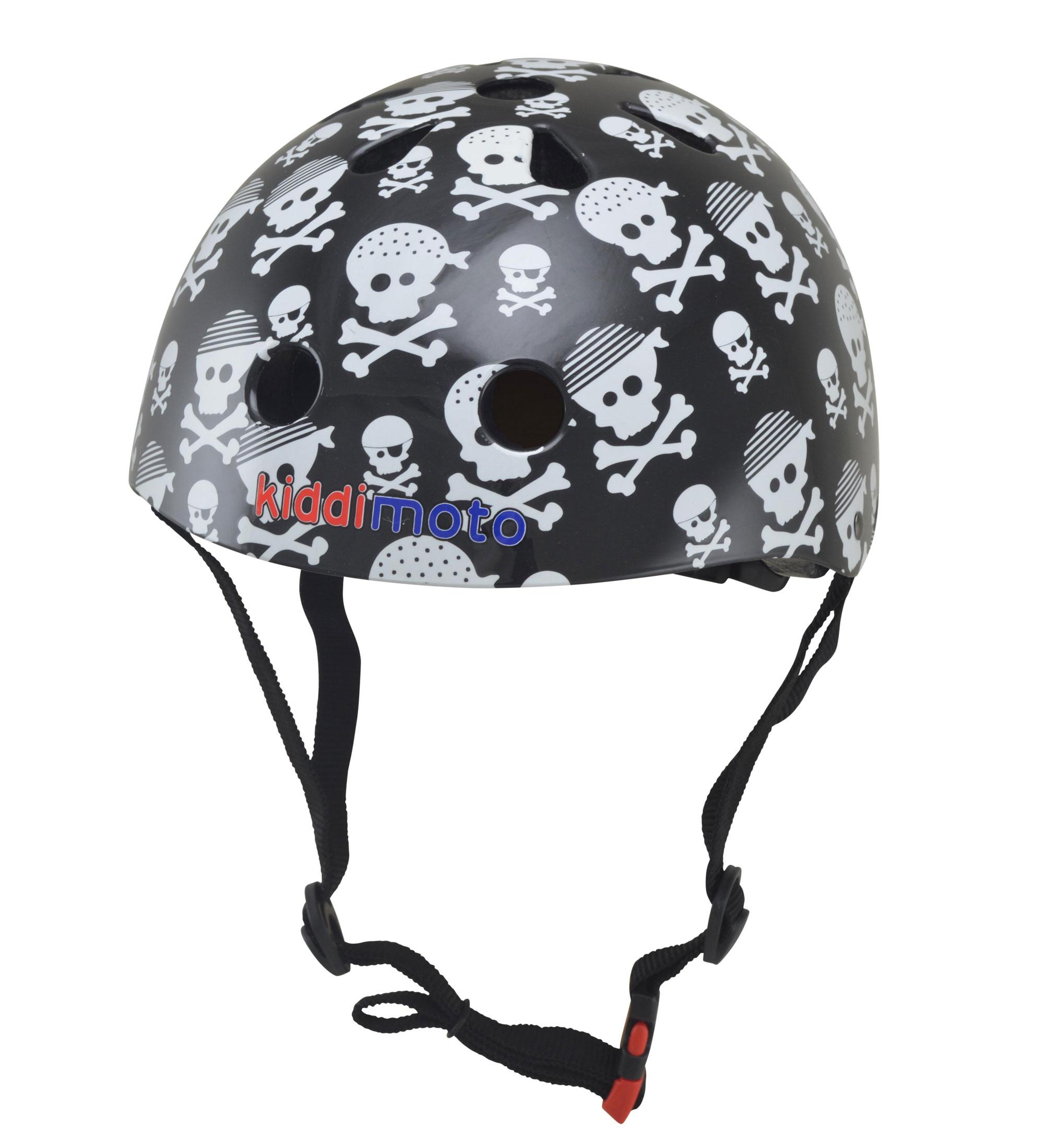 kiddimoto Fahrradhelm / Kinderhelm Größe M Pirat Bild 1