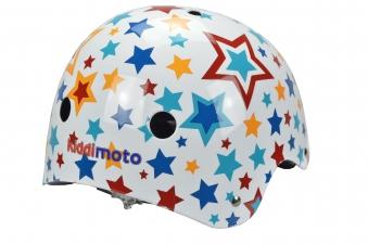 kiddimoto Fahrradhelm / Kinderhelm Größe M Stars Bild 2