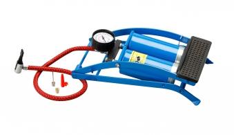 Unitec Fußluftpumpe / Hochleistungs-Doppel-Zylinder-Luftpumpe Bild 1