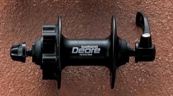 V-Radnabe Shimano Deore Scheibenbremse schwarz 32 Loch Bild 1