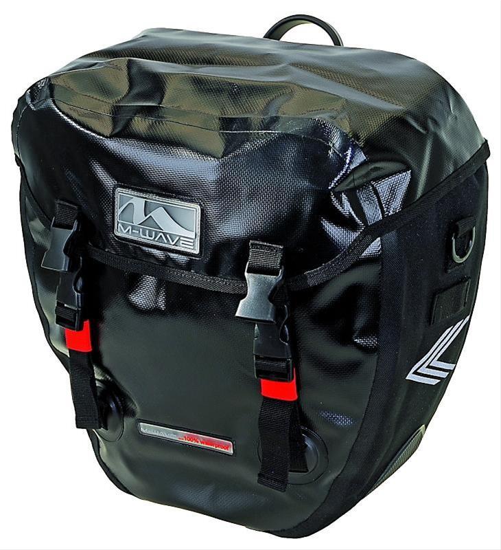 Fahrradtasche Doppeltasche Alberta wasserdicht 2x20 Liter M-Wave Bild 1