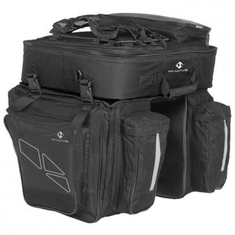 Gepäcktasche 3-fach Tasche M-Wave Bild 1