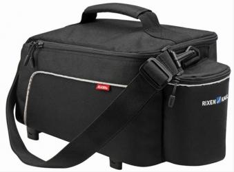 Gepäckträgertasche Klickfix Rackpack Light schwarz Volumen 8 Liter Bild 1