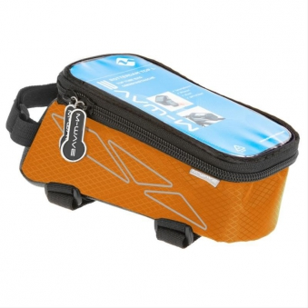 Oberrohrtasche 'M-Wave Rotterdam Top L' orange Bild 1