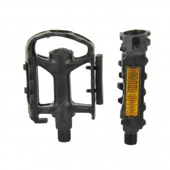 Fischer Fahrradzubehör / Pedale Kunststoffpedale MTB mit Reflektoren Bild 1