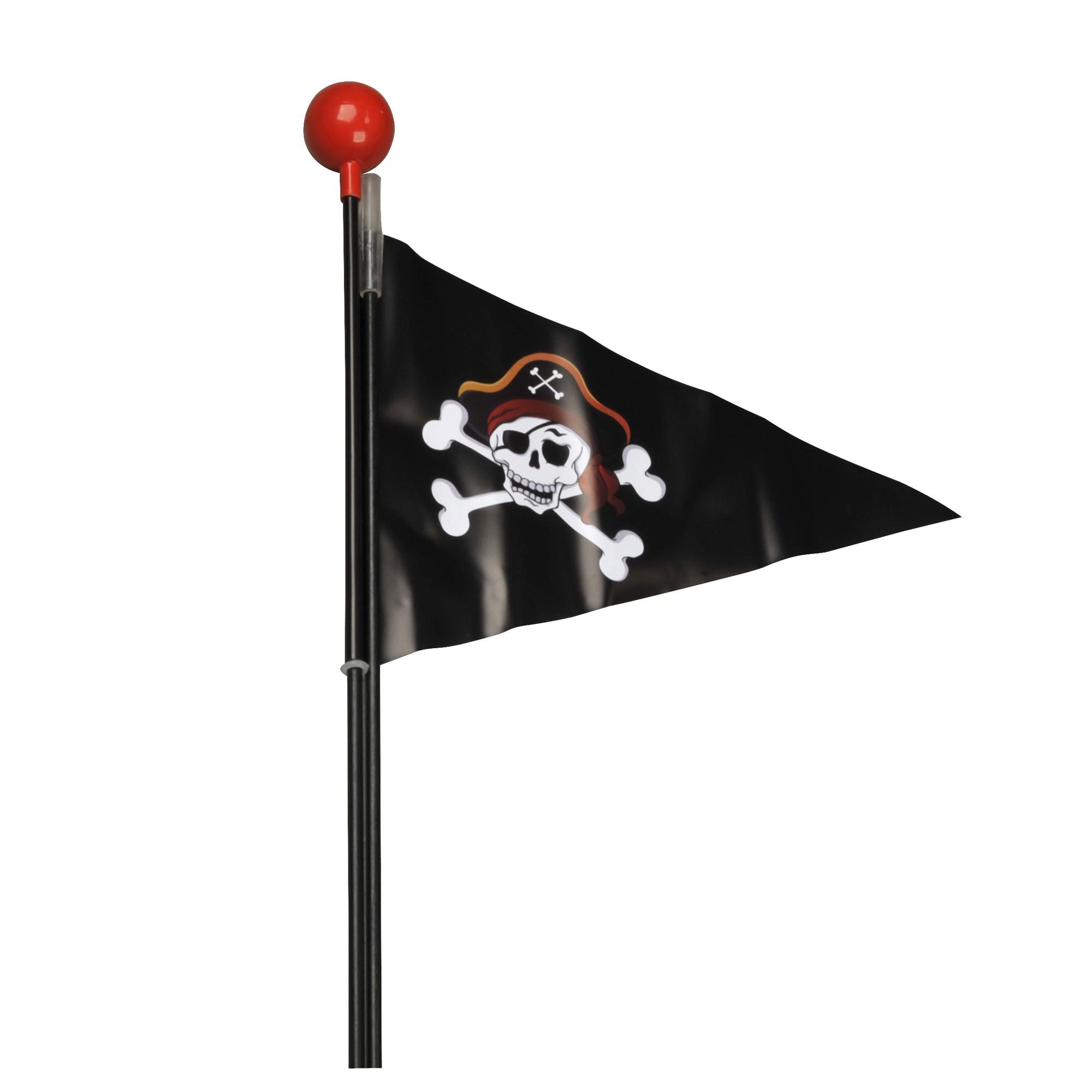 Fischer Kinderwimpel Pirat 20x88x4cm 2-teilig Bild 1