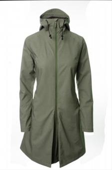 Damen Regenmantel AGU SEQ Urban Gr. L olive grün Bild 1
