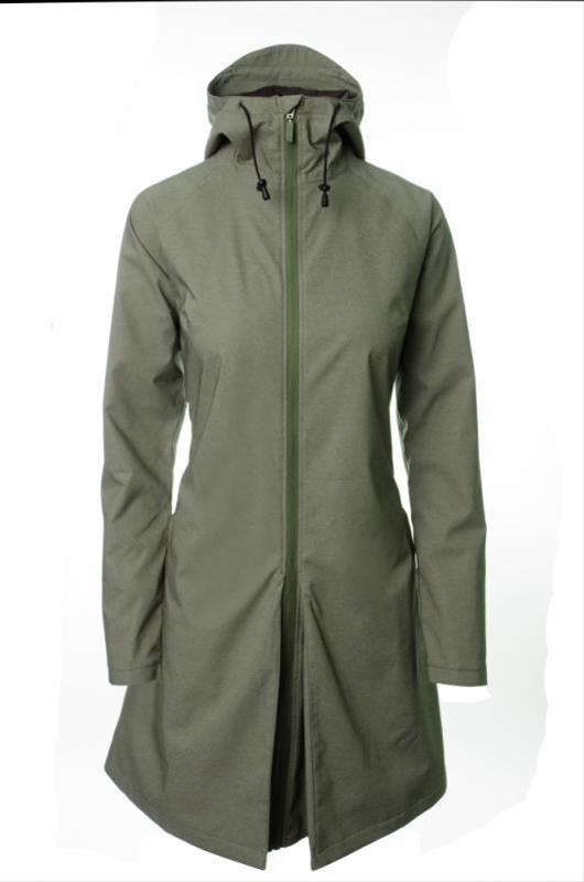 Damen Regenmantel AGU SEQ Urban Gr. XL olive grün Bild 1
