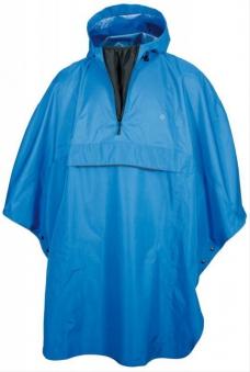 Regenponcho ' AGU Grand Poncho' blau Bild 1