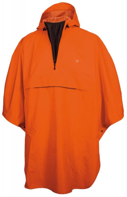 Regenponcho ' AGU Grand Poncho' orange Bild 1