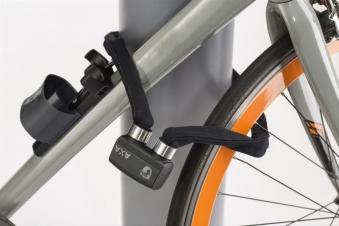 Fahrradschloss / Faltschloß Axa FLC 600 grau Bild 1