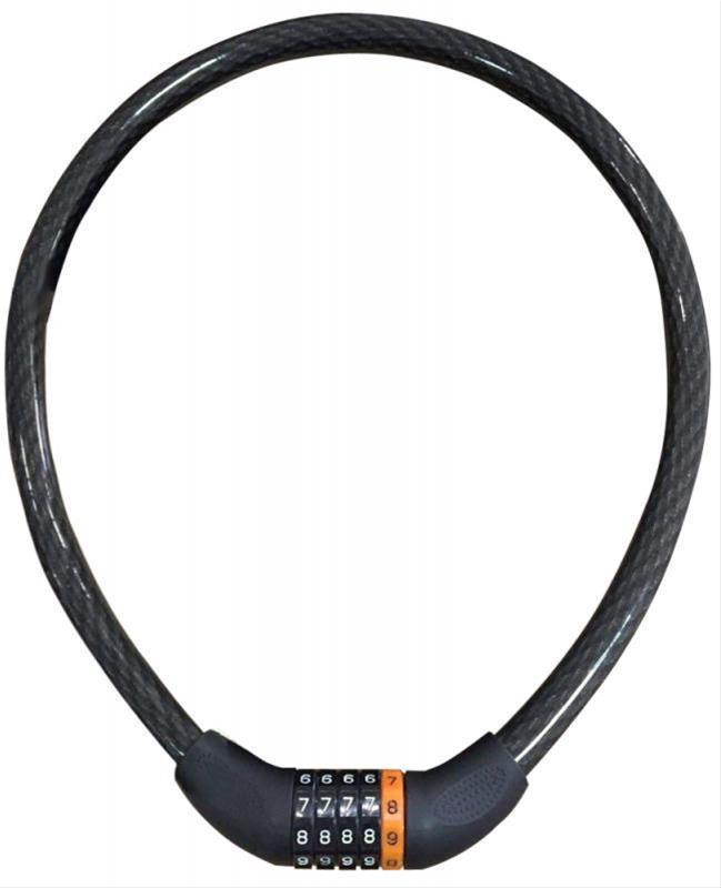 Fahrradschloss / Kabelzahlenpanzerschloß Point Security Plus 100cm Bild 1