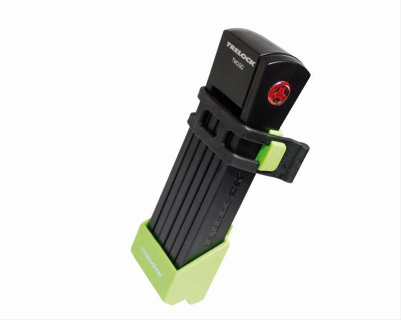 Faltschloß 'Trelock FS 200 Two.Go' grün Bild 1