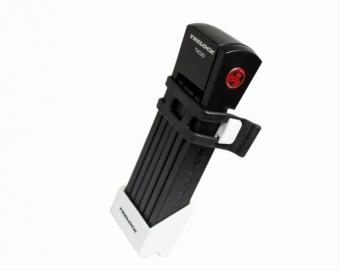 Faltschloß 'Trelock FS 200 Two.Go' weiß Bild 1
