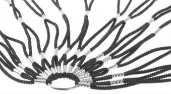 Fahrradnetz schwarz Bild 1
