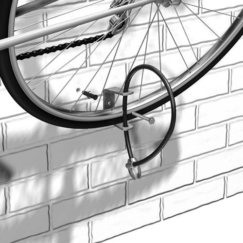 GAH Alberts Sportgerätehalter / Wandhalter für Fahrrad Bild 3