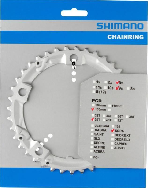 Kettenblatt 'Shimano' 39 Zähne Bild 1